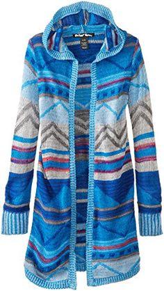 Derek Heart Big Girls' Hooded Duster Sweater
