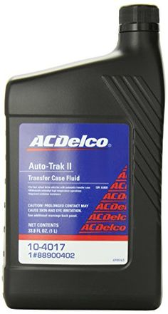 Genuine GM Fluid 88900402 Auto Trak II Transfer Case Fluid  338 oz ** Click image to review more details.
