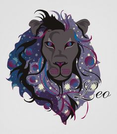 This is the first time I've seen cool colors in reference to a leo drawing....kinda like it not gonna lie....