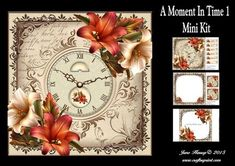A Moment In Time 1 Mini Kit on Craftsuprint designed by June Harrop - This Mini Kit contains 3 sheetsand is quick and easy to make and creates a lovely card thatcan be used for many occasions.Kit includes Card front, insert,text tiles, frame and 2 gift tags/toppers. - Now available for download!