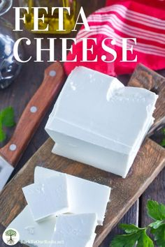 Creamy, salty, intense crumbles of awesomeness! Let me walk you through making homemade Feta cheese at home. You'll never go back to store bought. Cheese Recipes, Real Food Recipes, Fermentation Recipes, How To Make Cheese, Making Cheese, Homemade Cheese, Fermented Foods, Feta, Make It Simple