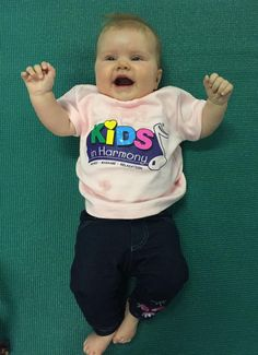 The very gorgeous Lucia is sharing her joy at Kids in Harmony!