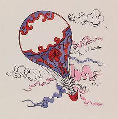 Andy Warhol Hot Air Balloon 1958