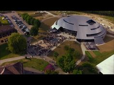 designed by bernard tschumi architects, carnal hall is set for opening, and will serve as a concert venue and art center for le rosey in rolle, switzerland. Le Rosey, Bernard Tschumi, World's Biggest, Brutalist, Architect Design, Magazine Design, Mansions, House Styles, Modern