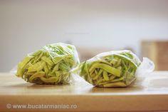 Cum se congeleaza fasolea verde | Bucatar Maniac Preserves, Freezer, Cabbage, Tasty, Vegetables, Blog, Natural, Canning, Veggies