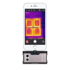 FLIR ONE-värmekamera för iOS - Apple (SE) Apple Uk, Ios Apple, Lightning Powers, Apples Photography, Visible Spectrum, Thermal Imaging Camera, Apple Brand, Photography Accessories, Iphone Accessories