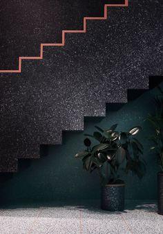 dark stairs
