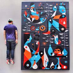 RUBEN SANCHEZ http://www.widewalls.ch/artist/ruben-sanchez/ #graffiti #streetart #urbanart