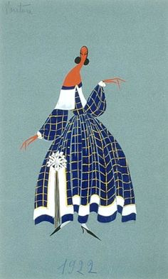 Paul Iribe Ventura Jeanne Lanvin   1922