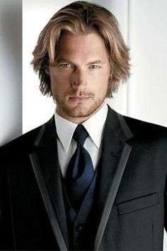 Classy Longer Hairstyle For Men