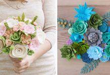 Na materskej dovolenke objavila lásku k handmade tvorbe. Pozrite aké nádherné kytice z filcu vyrába!