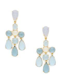 Faceted Multi-Stone Chandelier Earrings by Sheila Fajl, http://www.gilt.com/invite/1001183986av3mdagyc7