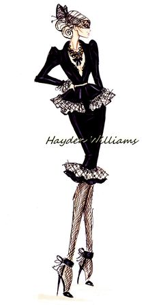 Hayden Williams Haute Couture Fall/Winter 2012.13