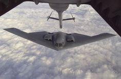 USAF Northrop Grumman B-2 stealth bomber.
