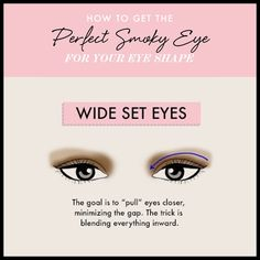 Wide Set Eyes - Land The Perfect Smoky Eye for Your Eye Shape