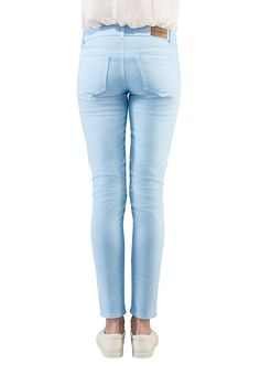 maliblue - SOLD OUT Strand, Skinny Jeans, Pants, Fashion, Sunny Days, Summer, Blue, Trouser Pants, Moda