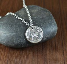 DARTH VADER  Artisan Handcrafted  pendant necklace by KLFStudio