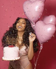 Cute Birthday Pictures, Birthday Ideas For Her, Birthday Goals, 16th Birthday Outfit, 31st Birthday, Pink Birthday, Birthday Dresses, Birthday Cake, Glam Photoshoot