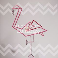 Washi tape Flamingo