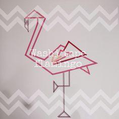 Washi tape Flamingo