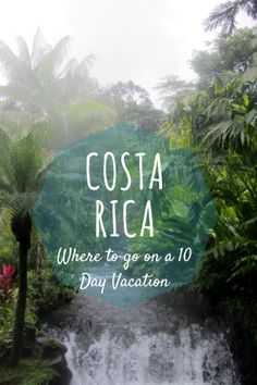 Itinerary Ideas- 10 Days in #CostaRica , the land of #puravida  Travel, Costa Rica, Hot Springs, Things to do in Costa Rica, Vacation Costa Rica, Tabacon