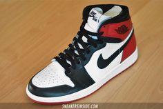"""Air Jordan 1 """"Black Toe"""" 2013 Retro - First Look"""