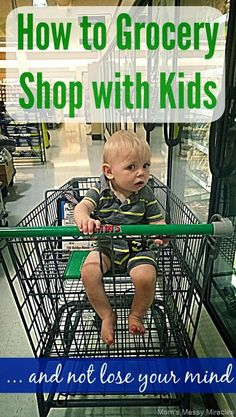How to Grocery Shop with Kids #tips #parenting