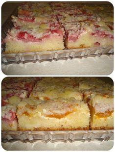 kysnutý ovocný koláč s tvarohom a mrveničkou Sweet Cakes, Vanilla Cake, Food And Drink, Baking, Recipes, Basket, Fine Dining, Patisserie, Sweetie Cake