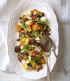 Mushroom-panzanella