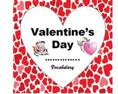 Valentine's Day Vocabulary Activities Vocabulary Activities, Classroom Activities, Kindergarten Graduation, Valentines Day Party, Autumn, Fall, Social Studies, Teaching Resources, How To Memorize Things