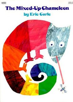 The Mixed-Up Chameleon by Eric Carle http://www.amazon.com/dp/0064431622/ref=cm_sw_r_pi_dp_XIY-wb0Y9A7Y5