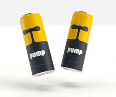 Inflated Brand Identities - Pump Energy Drink Packaging is Given a Bold and Powerful Boost  http://www.trendhunter.com/trends/pump-energy-drink-packaging