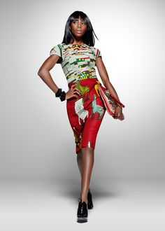 From the archive: a party look from Vlisco's 2011 'Nouvelle Histoire' collection