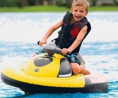 Kid's Inflatable Jet Ski