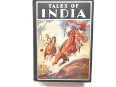 Tales of India, a Vintage Rudyard Kipling Book, 1936 by lizandjaybooksnmore on Etsy