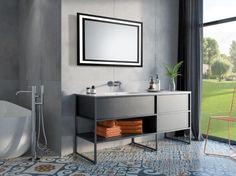 Produkt zgłoszony do konkursu Dobry Design Led Mirror, Mirrors, Vanity, Bathroom, Home, Design, Ring, Lighted Mirror, Oval Mirror