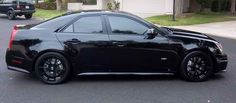 Murdered Out Cadillac CTS-V Sedan