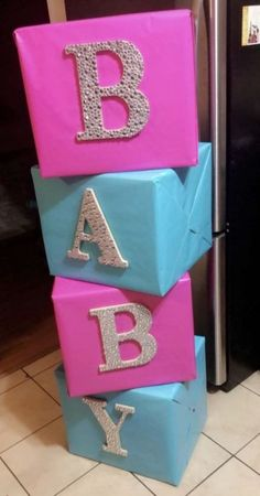 gender reveal ideas for party ~ gender reveal ideas . gender reveal ideas for party . gender reveal ideas for party decoration Gateau Baby Shower, Deco Baby Shower, Shower Bebe, Fun Baby Shower Games, Shower Party, Baby Shower Parties, Baby Shower Gifts, Gender Reveal Party Games, Gender Reveal Balloons