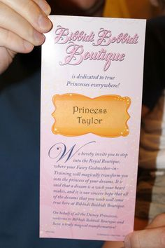 Love this! #DisneyWorld's #BibbidiBobbidiBoutique (from a Dad's perspective)! ~ Touringplans.com blog