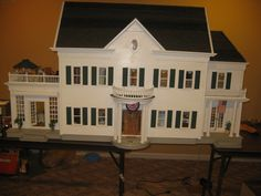 18 Best Dollhouses and Real Houses images in 2016 ... R Farmhouse Dollhouse Plans on dallas farmhouse plans, dollhouse books, dollhouse modern, house farmhouse plans, dollhouse bed, dollhouse farmhouse kits, greek farmhouse plans,