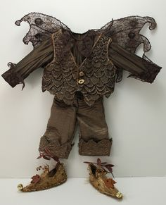 Delightful Acorn Tweed Fairy Outfit for a little forest pixie Fairy Clothes, Doll Clothes, Halloween Kostüm, Halloween Costumes, Boys Elf Costume, Fairy Costumes, Fairy Crafts, Woodland Fairy, Fairy Dress