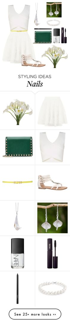 """White Calla Lily"" by omgsokawaii on Polyvore"