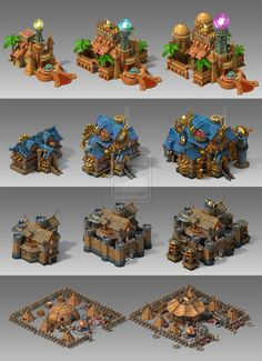 some buildings for promotion by offside926 location environment architecture game gui ui | Create your own roleplaying game material w/ RPG Bard at www.rpgbard.com | Writing inspiration for Dungeons & Dragons DND Pathfinder PFRPG Warhammer 40k Star Wars Shadowrun Call of Cthulhu and d20 fantasy science fiction scifi horror design | Not our art: please click artwork for source