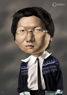 Hiro Nakamura (Masi Oka) Actor - Heroes