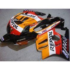 Honda CBR600 F3 1995-1996 Injection ABS Fairing - Repsol - Orange/Black/Red | $699.00