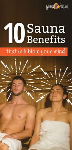 Sauna benefits are mind blowing, from weight loss to anti-aging and beyond. Discover the top 10 ways saunas can enhance your health in this article. http://www.mamanatural.com/sauna-benefits/