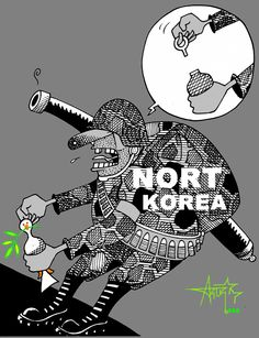 Coreio do Norte quer briga