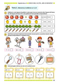 Letter C Preschool, Preschool Math, Kindergarten Math, Kids Math Worksheets, Preschool Activities, Educational Activities, Logic Math, Library Lesson Plans, Math School
