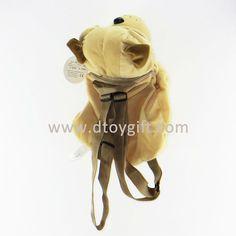 38cm plush dog backpack