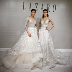 """""""Mi piace"""": 2,300, commenti: 14 - Lazaro (@lazarobridal) su Instagram: """"Our floral beauties  Which one do you choose -- Style 3758 (left) or Style 3759 (right)? …"""""""